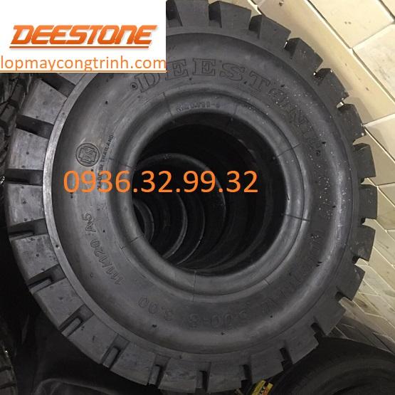 Lốp đặc xe nâng Deestone 500-8